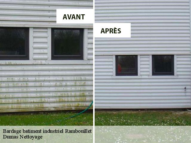 Bardage batiment industriel  78120